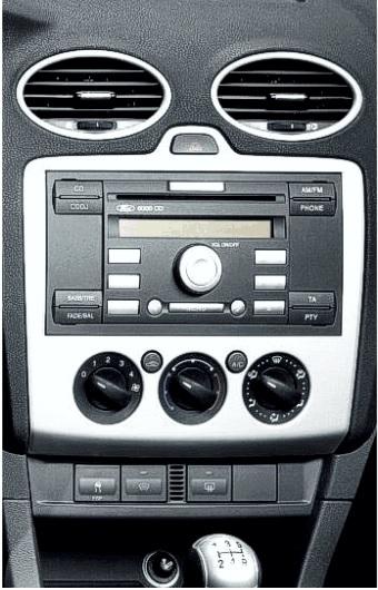 Ford Focus 2005 Onwards CD Stéréo Fascia Panneau Avant Panneau CT24FD09 FAKRA kit de montage