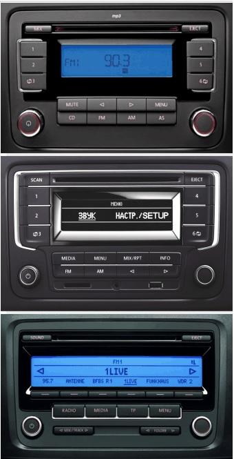 Volkswagen Touran 2003 On Car Stereo Single Din Fascia /& Fitting Kit FP-17-03