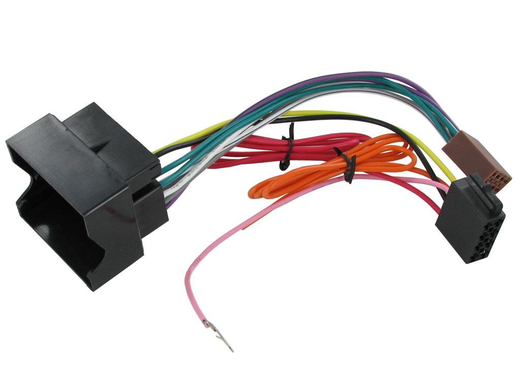 vauxhall vectra zafira wiring loom iso harness ct20vx01 ebay rh ebay com Automotive Wiring Harness zafira rear door wiring harness